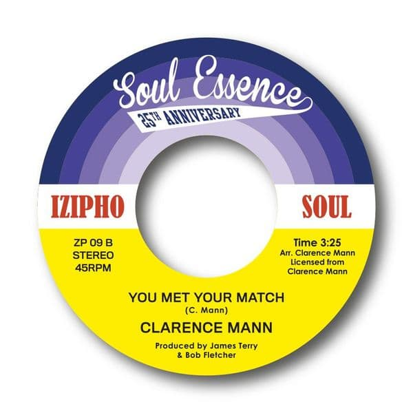 CLARENCE MANN - SHOW ME GIRL / YOU MET YOUR MATCH  - SOLD OUT